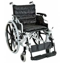 Fauteuil roulant Deluxe - assise 46 cm