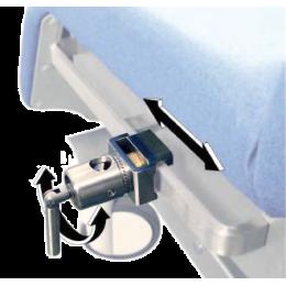 Etau unitaire rotatif pour accessoires pour fauteuil d'examen Promotal
