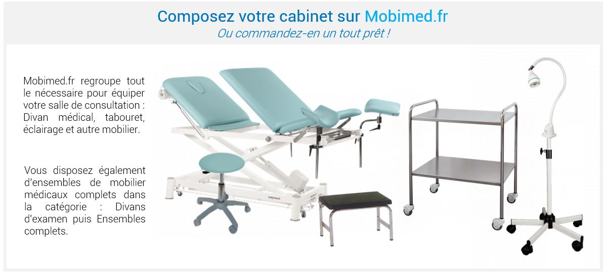 Équipez votre cabinet médical sur Mobimed